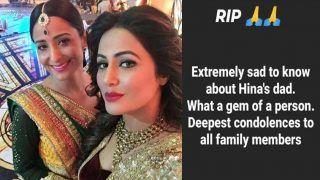 Hina Khan's Yeh Rishta Kya Kehlata Hai Co-star Lataa Saberwal Pay Condolences on Father's Death