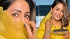 Hina Khan Traditional Avatar: पीले सूट में बला की खूबसूरत लगीं हिना खान, कुछ ने कहा ये चाँद है कुछ ने कहा चेहरा तिरा