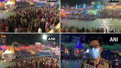 Mahakumbh in Haridwar: हरिद्वार में सोमवती अमावस्या पर महाकुंभ का दूसरा शाही स्नान, साधु-संत, आम लोग लगा रहे पवित्र डुबकी