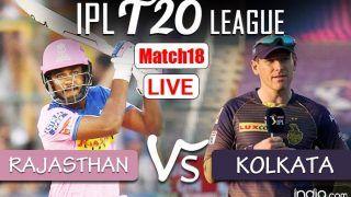 Live IPL 2021 | RR vs KKR Updates: Desperate Kolkata Look to Bounce Back Against Dejected Rajasthan