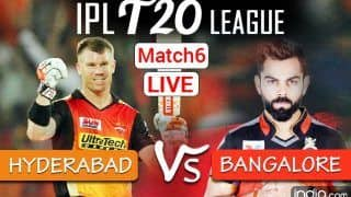 Match Highlights SRH vs RCB IPL 2021: Shahbaz Ahmed, Glenn Maxwell Guide Bangalore to 6-Run Victory Over Hyderabad