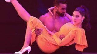 Nora Fatehi और तुषार कालिया ने 'साकी साकी' गाने पर किया डांस, केमेस्ट्री देख हर कोई हैरान- Video