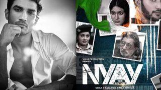 Nyay the Justice Teaser: सुशांत की मौत पर बनी फिल्म का टीजर रिलीज, इस एक्ट्रेस ने निभाया है रिया चक्रवर्ती का किरदार- Video