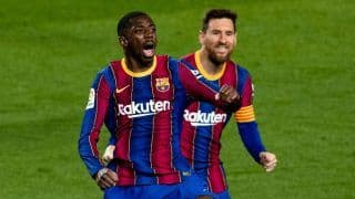 Barcelona vs Valladolid: Dembele Winner Helps Barca Move Within One Point of La Liga Leaders Atletico Madrid