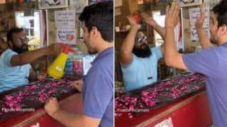 Next Level Swagaat: This Paanwale Bhaiya Welcomes His Customers in The Most Entertaining Way | Watch