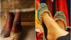 Juti Latest Designs For Wedding: आ गया शादियों का सीजन, लंबी हाइट की लड़कियां हील्स की बजाय ट्राई करें जूती के ये खूबसूरत डिजाइन्स