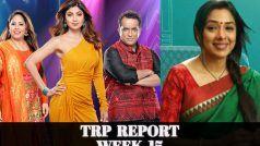 TRP List 37th Week: Anupamaa के हाथ से गया दूसरे नंबर का ताज, The Kapil Sharma Show ने मारी बाजी