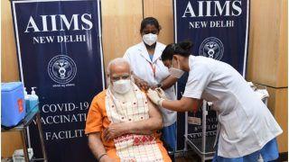 PM Gets Covid Vaccine's Second Dose: प्रधानमंत्री मोदी ने AIIMS में ली कोरोना वैक्सीन की दूसरी डोज, लोगों से की यह अपील