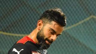 WATCH | 'Furious' Kohli Slams Chair in ANGER After Dismissal vs Hyderabad