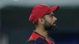 IPL 2021: Virat Kohli Gets Hit on Face After Dropping Krunal Pandya During MI vs RCB in Chennai