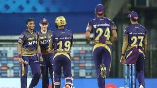 IPL 2021 Points Table After SRH vs KKR: Kolkata on Second as Delhi Stay on Top; Shikhar Dhawan Continue to Lead Orange Cap Race; Harshal Patel Holds Purple