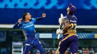 IPL 2021: Rahul Chahar, Krunal Pandya Shine as Mumbai Indians Continue Domination Over Kolkata Knight Riders With 10-Run Win
