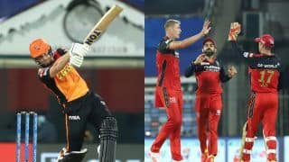 Live SRH vs RCB IPL 2021 Live Score and Today's Match Updates: Virat Kohli's Bangalore Look to Continue Momentum vs Sunrisers Hyderabad