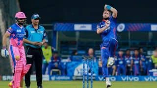 IPL 2021 Points Table After RR vs DC: Delhi Capitals Slip to Fourth; Nitish Rana Holds Orange Cap, Harshal Patel Grabs Purple