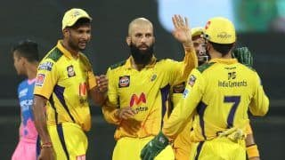 IPL 2021, CSK vs RR: Moeen Ali, Ravindra Jadeja Spin Web as Chennai Super Kings Thrash Rajasthan Royals by 45 Runs