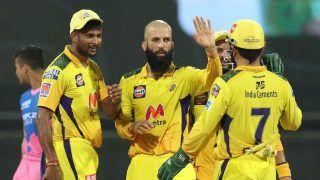 IPL 2021, CSK vs RR: Moeen Ali, Ravindra Jadeja Spin Web as Chennai Super Kings Thrash Rajasthan Royals by 45 Runs