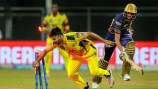 IPL 2021: Faf du Plessis, Deepak Chahar Shine as CSK Beat KKR by 18 Runs Despite Pat Cummins And Andre Russell's Heroics