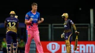 IPL 2021: Chris Morris, Sanju Samson Inspire Rajasthan Royals to Sensational 6-Wicket Win Over Kolkata Knight Riders