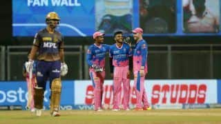 IPL 2021 Points Table: Kolkata Knight Riders Drop to Eighth Spot; Shikhar Holds Orange, Harshal Dons Purple Cap