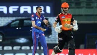 IPL 2021: Axar Patel Shines on Comeback as Delhi Capitals Beat Sunrisers Hyderabad in Thrilling Super Over