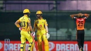 IPL 2021 CSK vs SRH: Ruturaj Gaikwad, Faf du Plessis Guide Chennai Super Kings to Comprehensive 7-Wicket Win Over Sunrisers Hyderabad