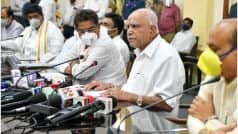 Will Karnataka Extend Lockdown Beyond May 24? CM BS Yediyurappa Issues Statement