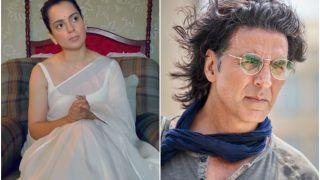 Kangana Ranaut Says Akshay Kumar Called Her Secretly to Praise Thalaivi, Fans Are Rolling Their Eyes!