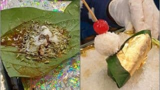 This Delhi Paan Parlour is Selling Meetha Paan Dressed in GOLD. Watch Viral Video