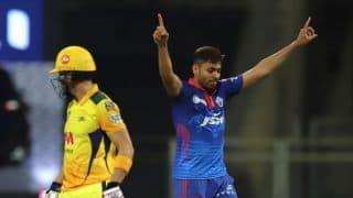 MS Dhoni's Wicket is Dream Realised For DC Pacer Avesh Khan