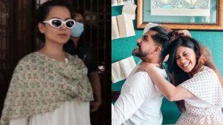 Dumbness At Its Best! Kangana Ranaut Faces Flak For Stepping Out in Mumbai Sans Mask, Suyyash Rai Trolls Her