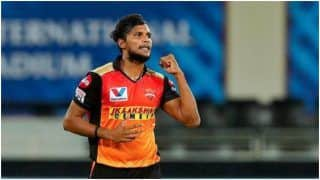 BAD News For SRH, Natarajan Ruled OUT of IPL 2021: Report