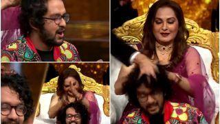 Indian Idol 12: Jaya Prada To Give A Head Massage To Idol Nihal Tauro, Tap Feet on Dhafli Wale Dhafli Baja - Watch