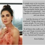 Kirti Kulhari Announces Separation From Husband Saahil Sehgal: Not On Paper, But In Life