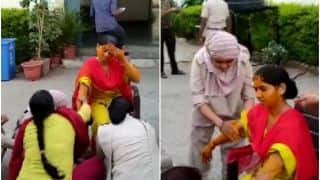Cop's Haldi Ceremony Held At Police Station After Leaves Go Unapproved | Watch
