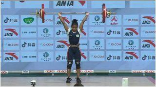 Jhilli Dalabehera Wins Gold at Asian Weightlifting Championship