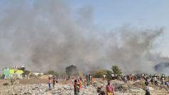 Noida's sector 63 Fire: नोएडा की झुग्गियों में लगी भीषण आग, अब तक दो बच्चों के शव बरामद