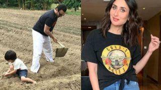 खेतों में जमकर मेहनत कर रहे हैं सैफ अली खान और तैमूर, Kareena ने फोटो शेयर करके बताई ये खास बात