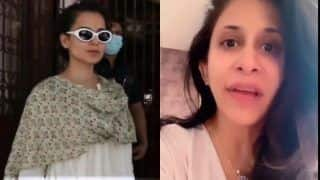 Kangana Ranaut's Fans Troll Kishwer Merchant For 'Bullying' Her Over Not Wearing Face Mask, Latter Hits Out