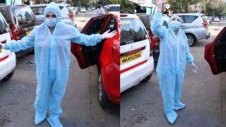 मुंबई की सड़कों पर बोल्ड अंदाज में घूमने वाली एक्ट्रेस PPE किट पहनकर निकलीं बाहर, अंदाज देखकर फैंस के उड़े होश