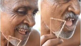 Viral Video: Uncle's Desi Technique For Shaving Beard is Some Next-Level Jugaad | Watch