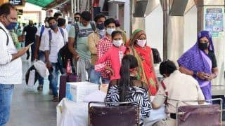 India Records 184372 COVID Cases, 1027 Deaths In 24 Hours; Active Cases Cross 13 Lakh Mark