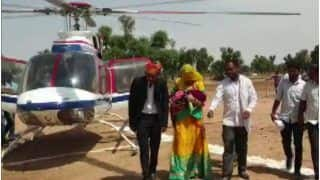 'Grand Welcome': Rajasthan Man Hires Helicopter to Bring Home First Girl Child Born in 35 Years