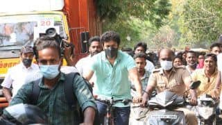Tamil Nadu Elections 2021: Master Actor Vijay Cycles to Polling Booth