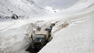 India's High Mountain Pass Zoji La, Connecting Kashmir And Ladakh, Now Reopens | Deets Inside