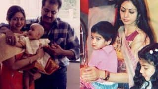 Janhvi Kapoor, Khushi Kapoor Share Rare Throwback Pictures With 'Mumma' Sridevi on Mother's Day