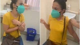 Viral Video: Scared of Injections, Girl Screams 'Mummy, Mummy' While Taking Covid Vaccine   Watch