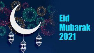 Eid-Ul-Fitr 2021 Moon Sighting In India: ईद मुबारक! भारत में दिखा ईद का चांद, देखें Chand Raat की तस्वीरें