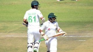 Zim vs pak 2nd test abid ali nauman ali partnership takes pakistan to 510 8 zimbabwe at 52 4 4650677