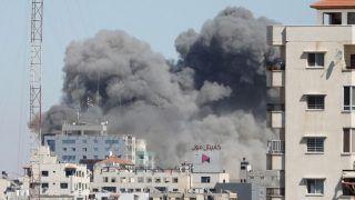Israel-Gaza Conflict: इजराइल ने गाजा सिटी पर फिर से भीषण हवाई हमले किए