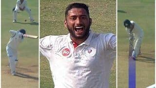Arzan Nagwaswalla, India's New Test Recruit's Sensational Ranji Spell is Proof of His Talent | WATCH VIDEO